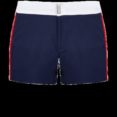 Merle Men Flat Belt Stretch Swimwear Tricolor