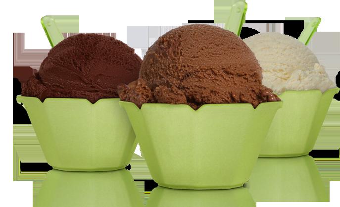Large gelato