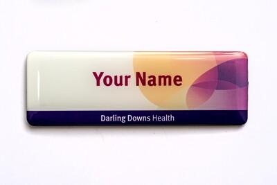 Darling Downs Health NAME BADGE -no title