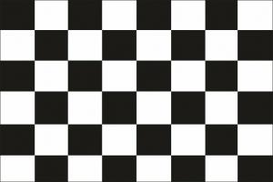 Финишный флаг без древка 75х50