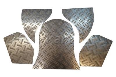 Комплект алюминиевых поликов для sd-kart