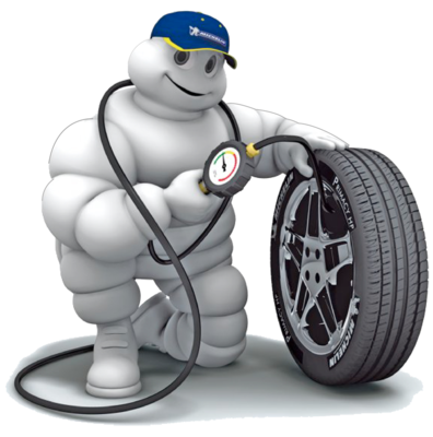 Сборка 1 колеса + вентиль