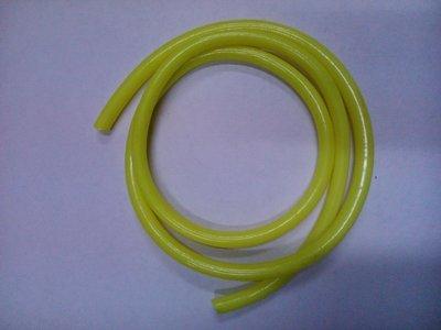 Бензошланг жёлтый 4*8 длина 1м.