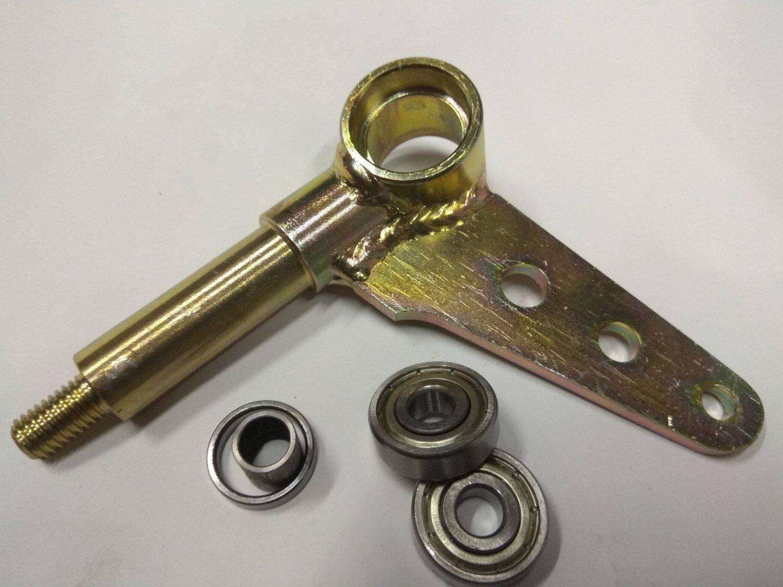 Поворотный кулак DINO в сборе усиленный Ф42 левый (ось кулака ф20)