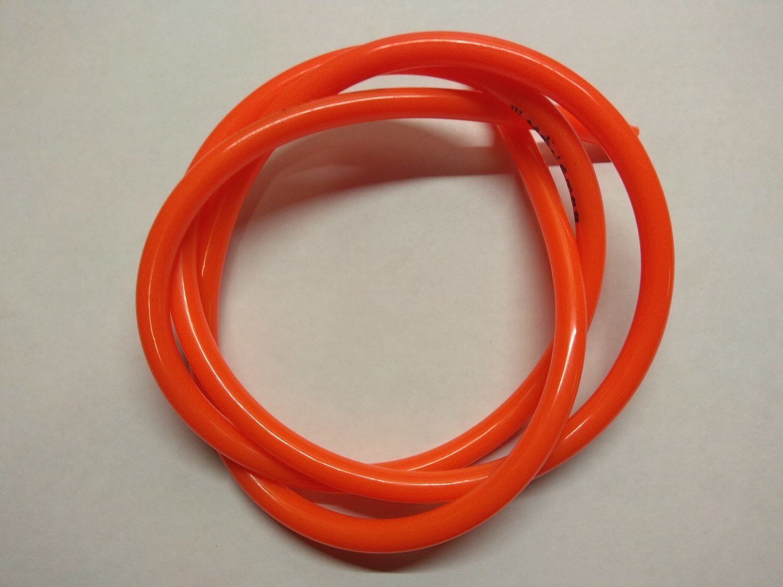 Бензошланг оранжевый 4*8 длина 1м.