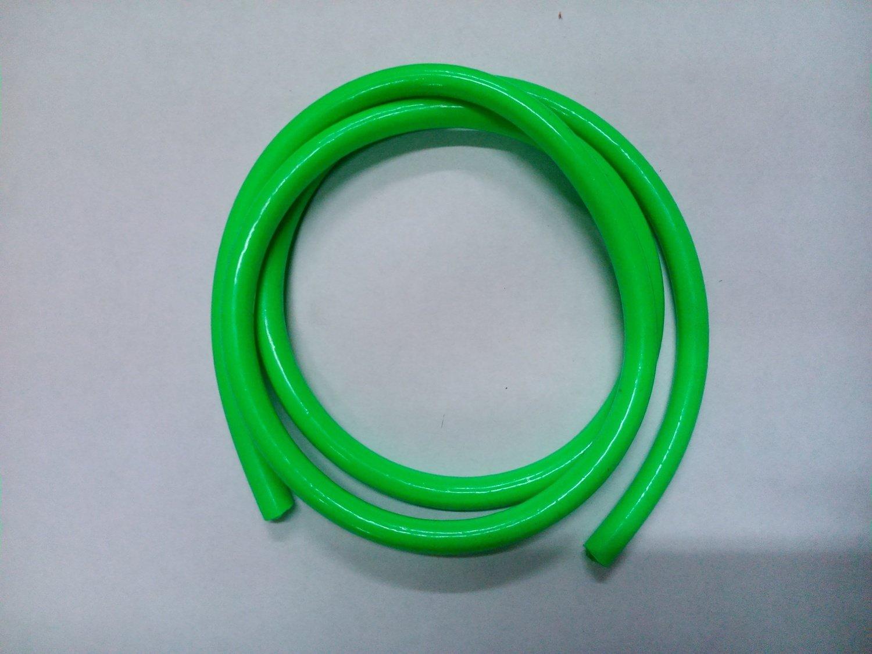Бензошланг зелёный 5*8 длина 1 метр