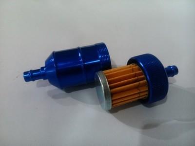 Фильтр топливный разборный (синий)