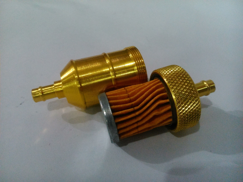 Фильтр топливный разборный (жёлтый)