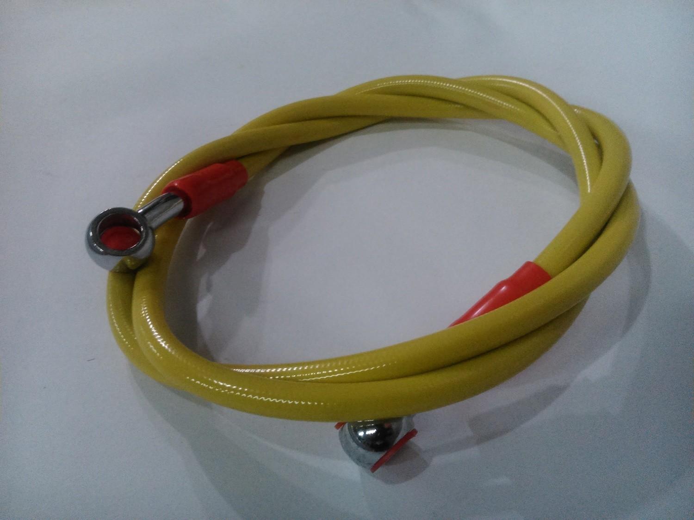 Тормозной шланг 1200мм жёлтый