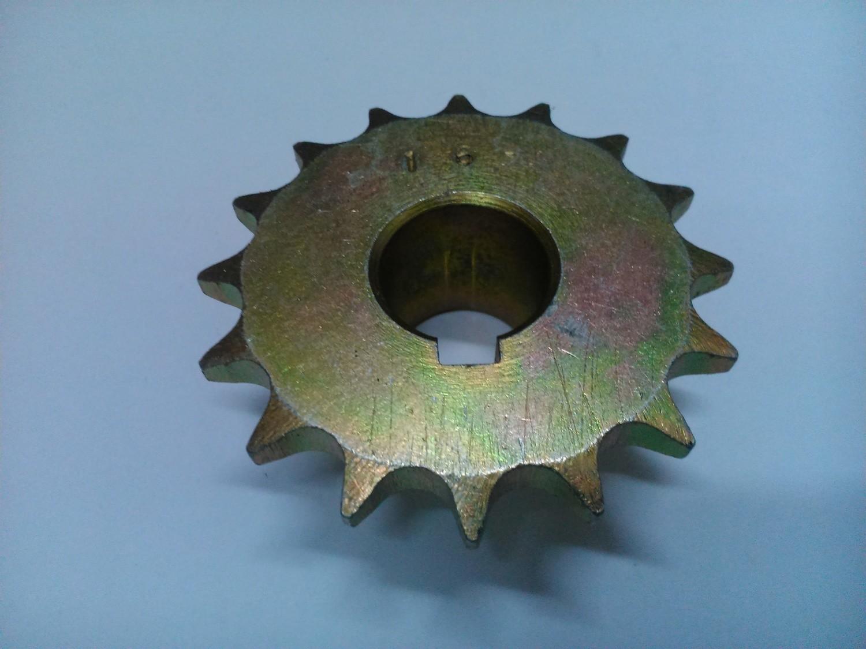 Звезда ведущая 16 зубьев посадочный Ф 22 мм