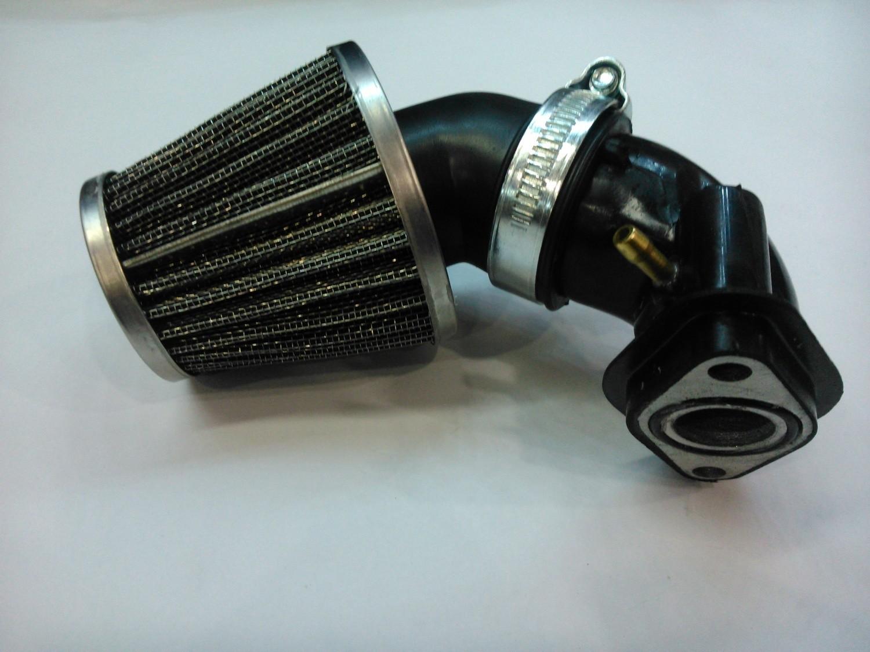 Впускной коллектор и фильтр нулевого сопротивления (внутренний 19)