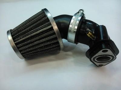 Впускной коллектор и фильтр нулевого сопротивления (внутренний 24)