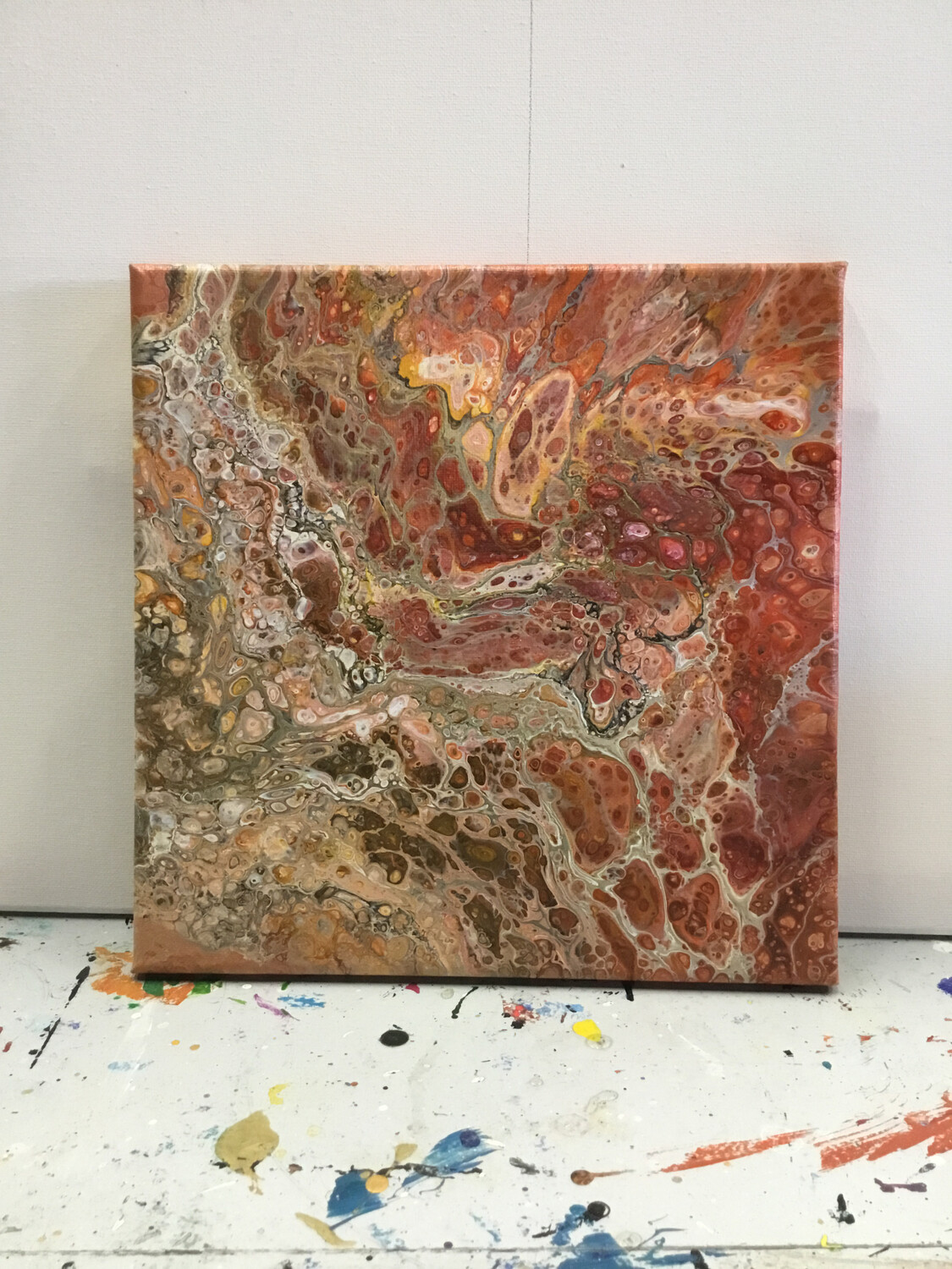 """Zoom Art Class:  """"Acrylic Pour"""" July 30th  (All Ages Welcome)"""