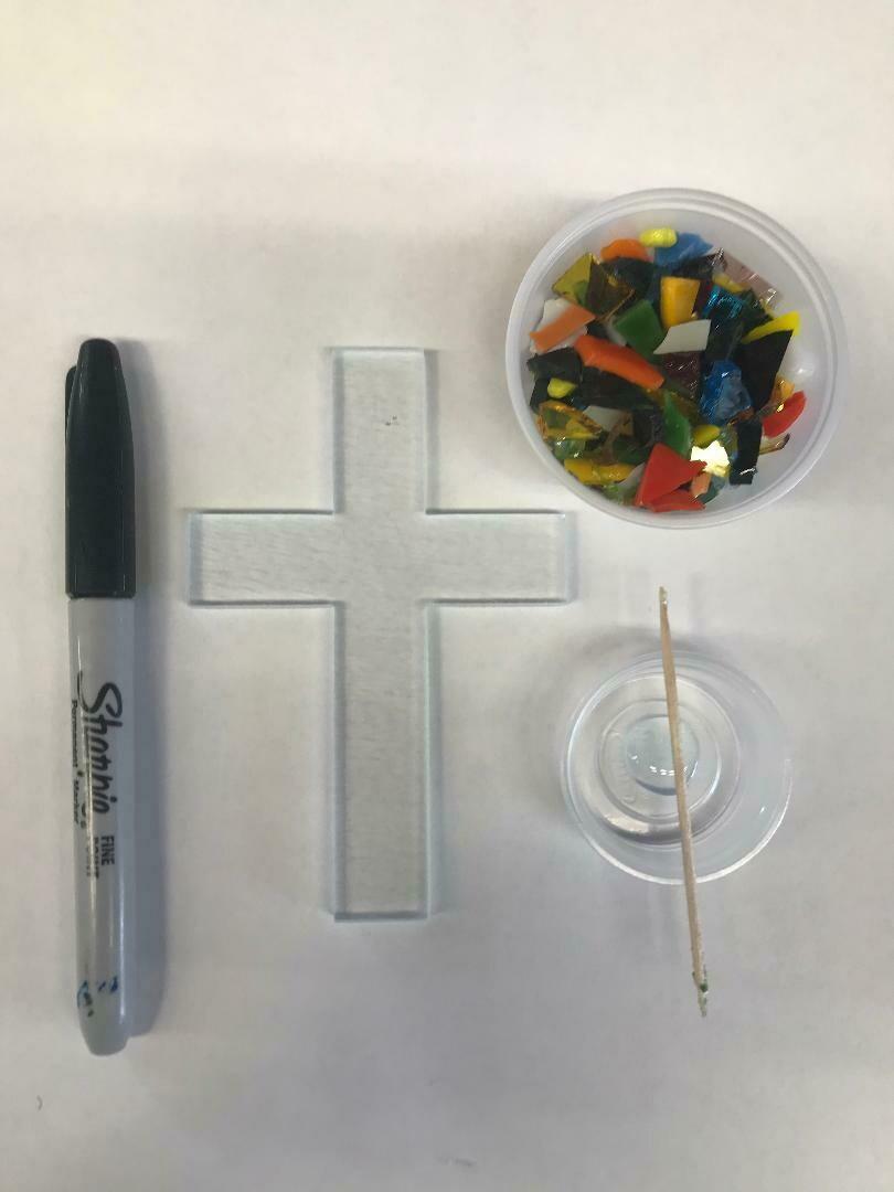 Fused Glass: Crosses