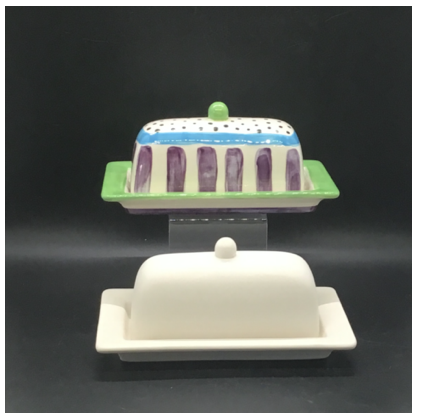 Rim Butter Dish