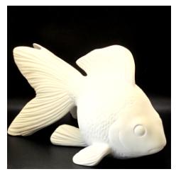"Fancy Goldfish (7.25""hx13.5""L)"