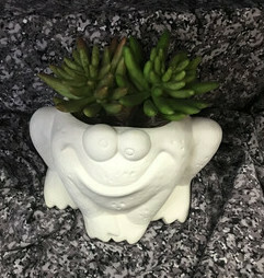 Cute Frog Planter