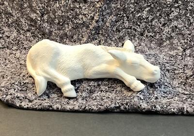 Laying Donkey