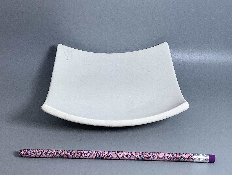 "6"" Sushi Square Plate"