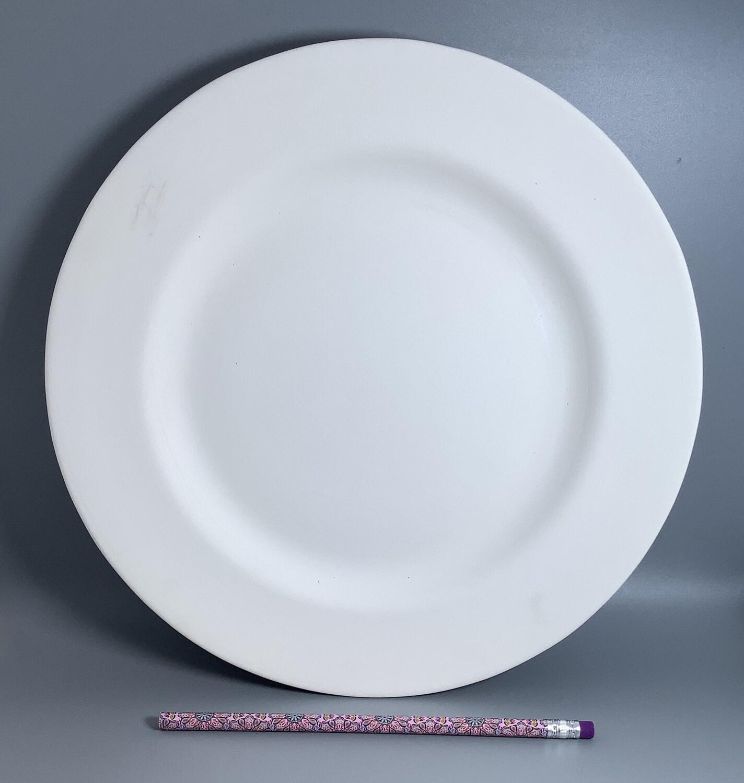 """11"""" Rimmed Dinner Plate"""