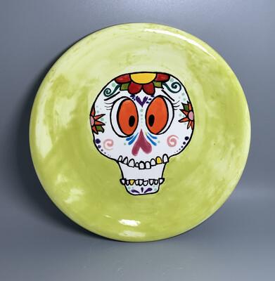 Sugar Skull Plate- Monday. Oct 26th (6:30-8pm)