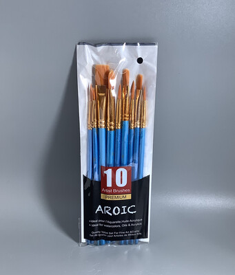 Pottery Brushes (10pk)