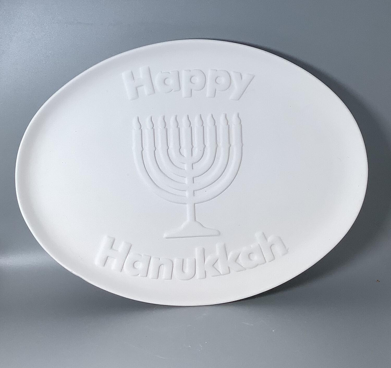 Happy Hanukkah Plate