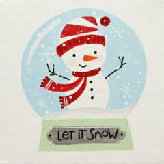 Snowman Snow Globe: Dec. 12th (4-6pm)