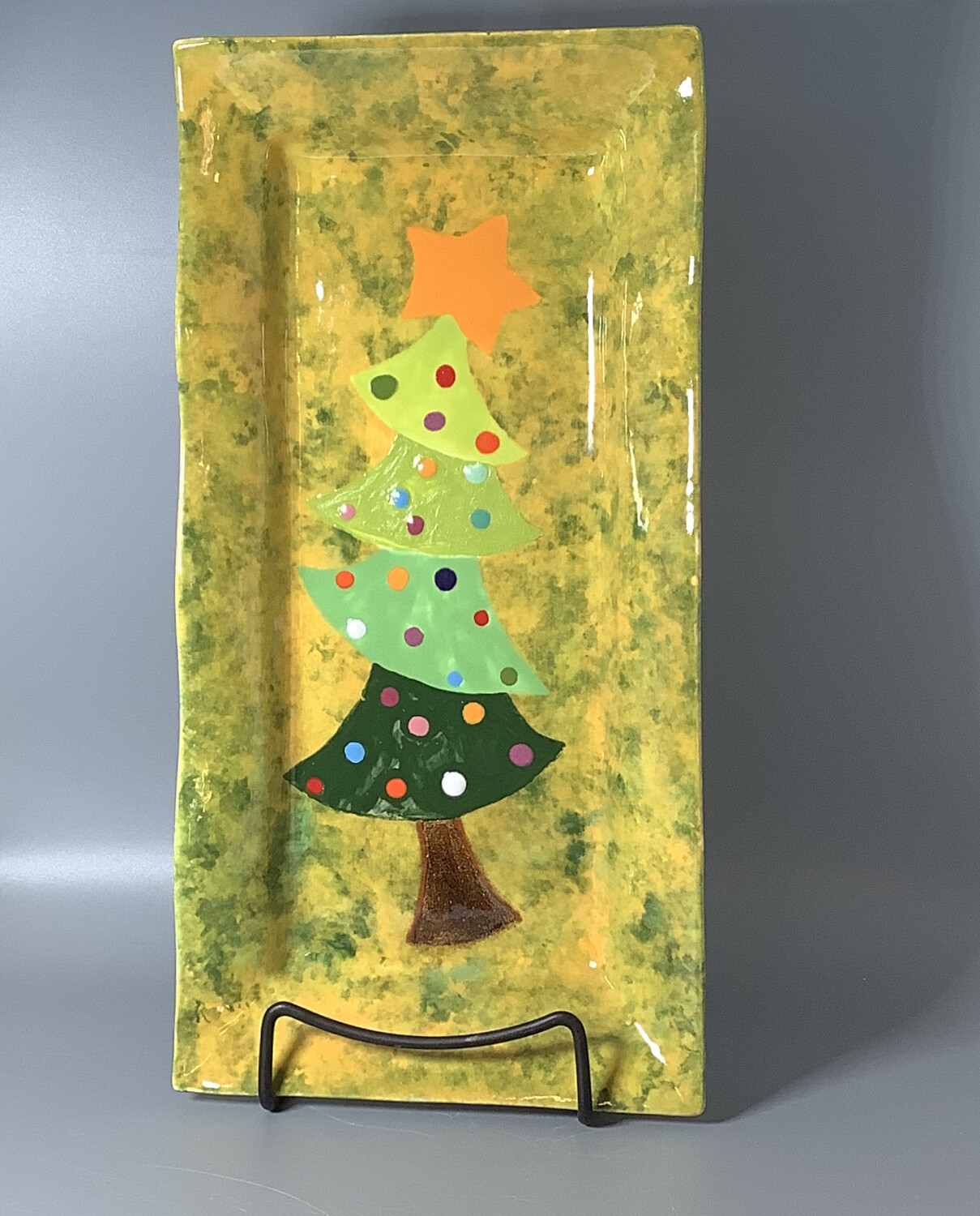 """Crooked Tree"" on Rectangle Platter- Dec. 15th (6:30-8pm)"
