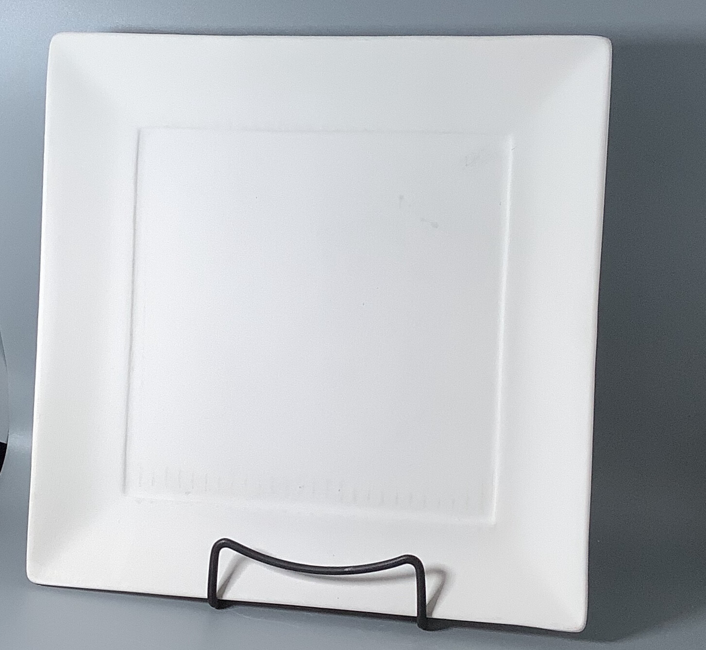 Square Rimmed Plate
