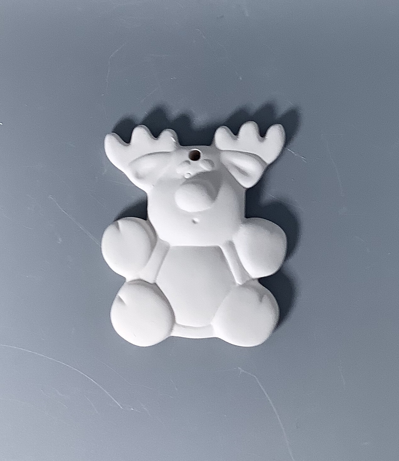 Flat Reindeer Ornament