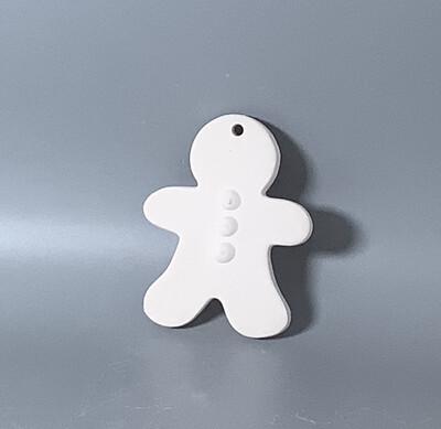 Flat Gingerbread man