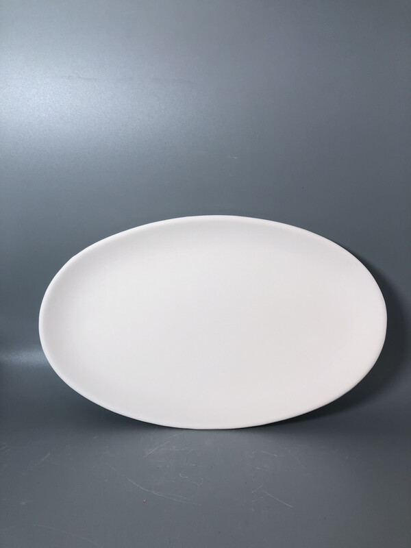 Coupe Oval Plate (6x10)