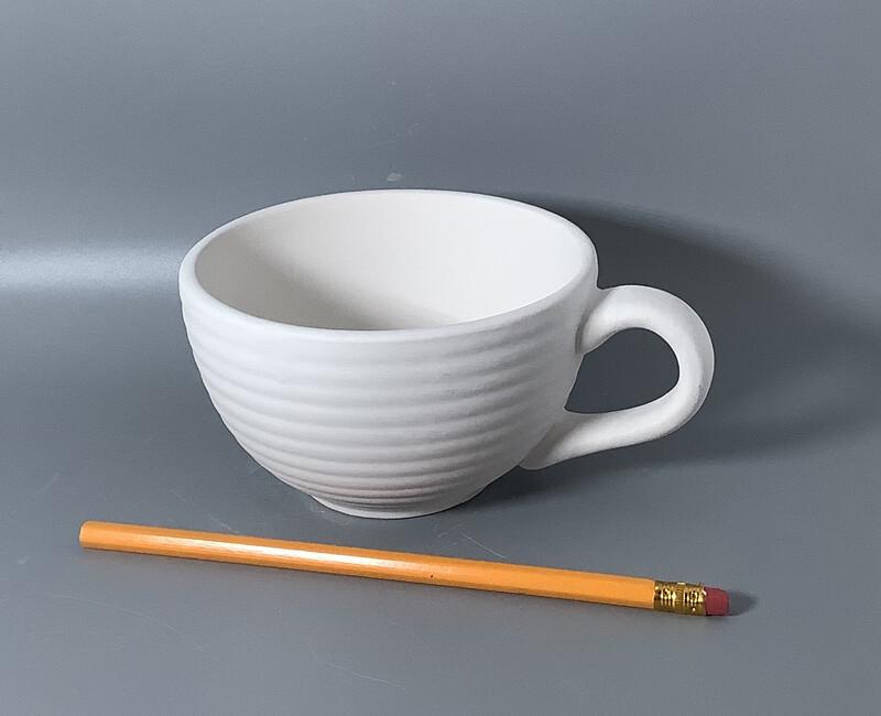 Coiled Latte Mug
