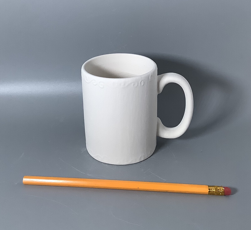 Swirly-Trim Mug