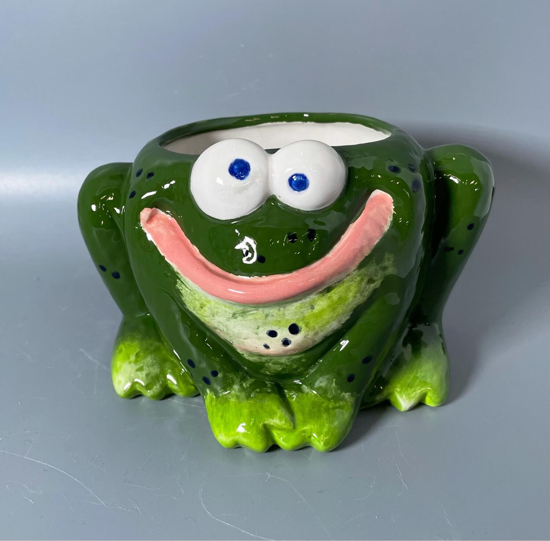 Cute Frog Planter