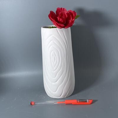 "Wood Vase (7""H)"