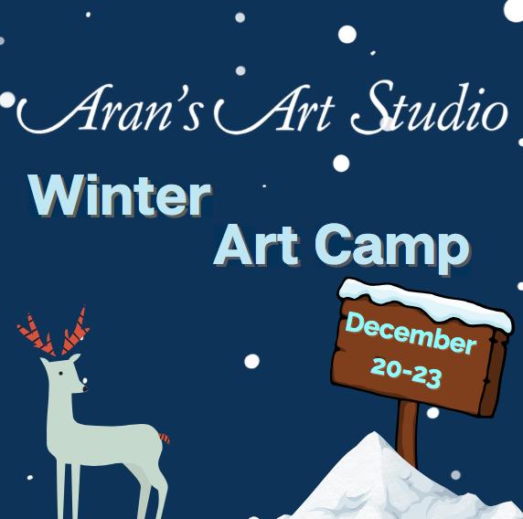 Winter Art Camp: Dec 20th-23rd