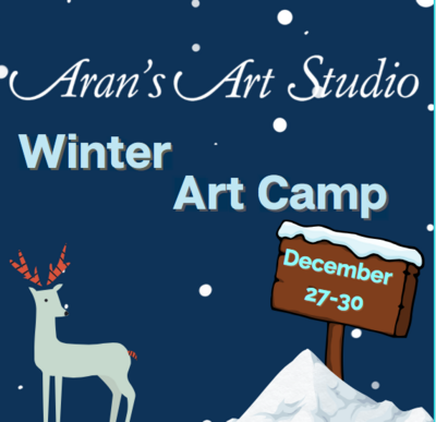 Winter Art Camp: Dec 27th-30th
