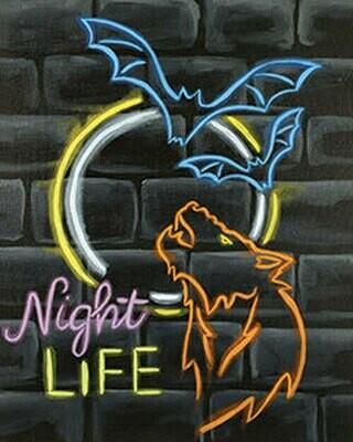 Class: Night Life 10/13