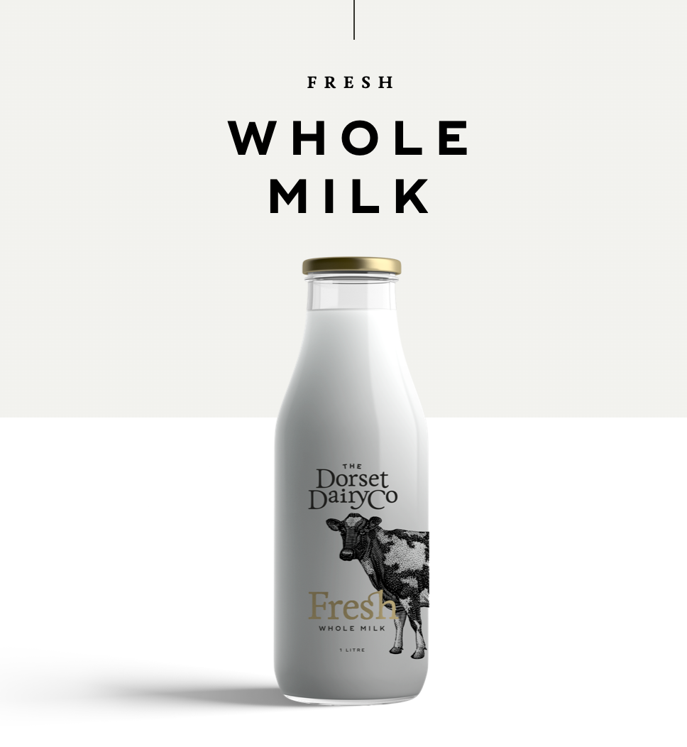 Fresh Whole Milk 1L