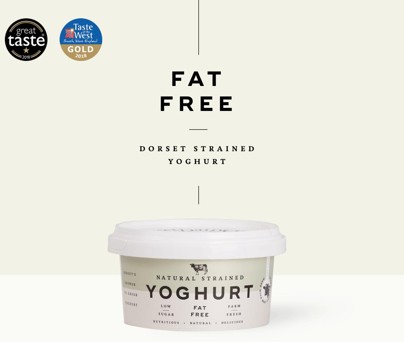 Fat Free Dorset Strained Yogurt 500g