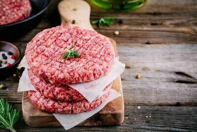 4 x Beef Burgers 400g