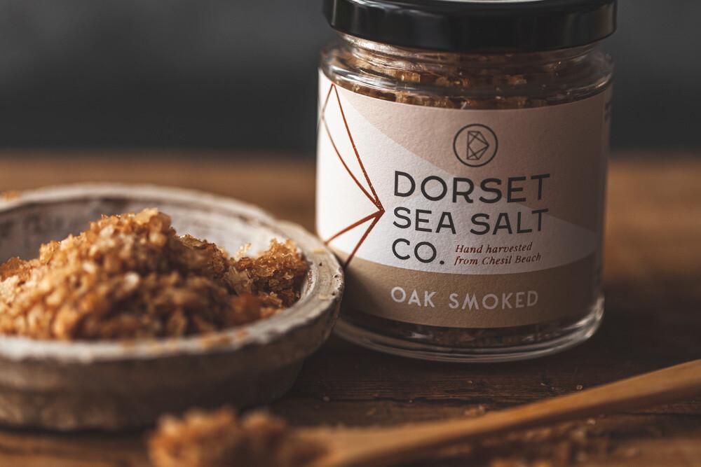 Apple Oak Smoked Salt 125g