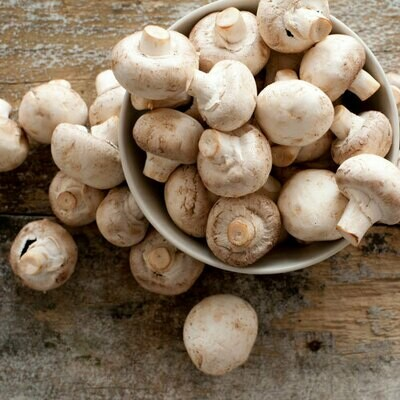 Baby Button Mushrooms 400g