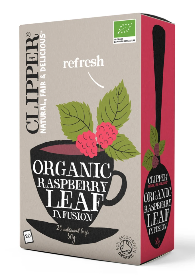 Organic Raspberry Leaf Infusion 20 Bags
