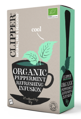 Organic Infusion Peppermint 20 Teabags 20