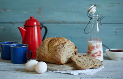 Organic Malted 5 Seed Sourdough Bread 800g