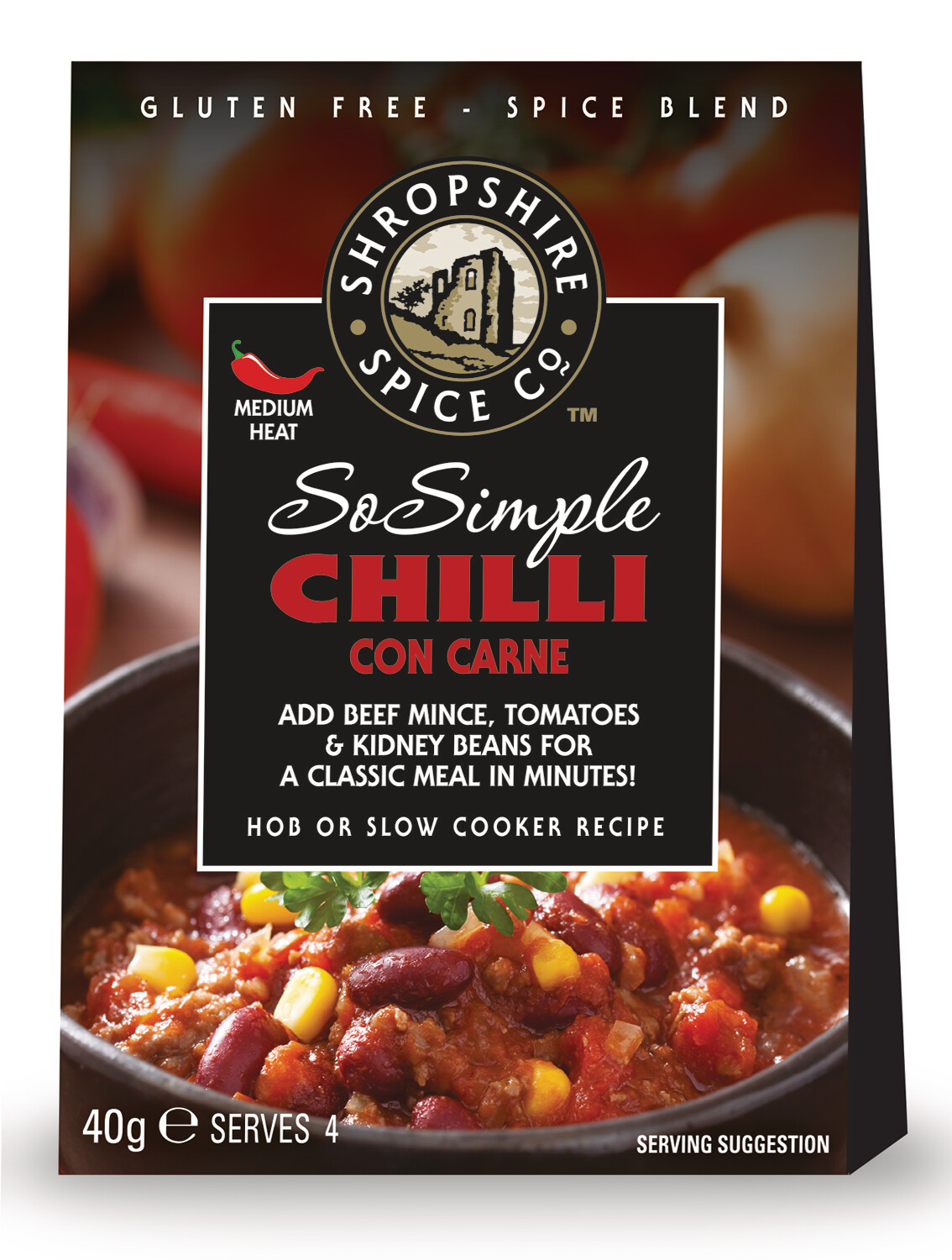 Gluten Free So Simple Range Chilli Con Carne
