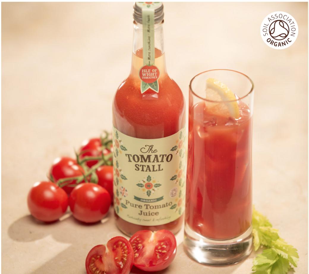 Pure Organic Isle of Wight Tomato Juice 500ml